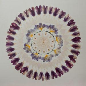 Brautstrauss trocknen Tulpen 60 x 60