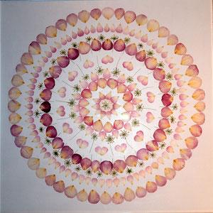 Brautstrauss trocknen Rosen konservieren creative stye 60 x 60