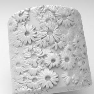 Blütenrelief,Rendering