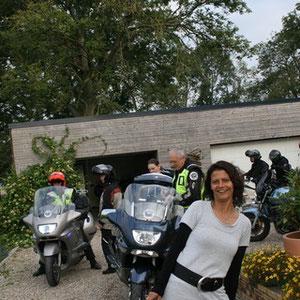 Accueil motard blockhaus de Domleger