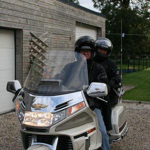 Accueil motards en chambre d'hotes
