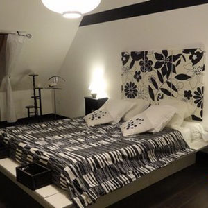 La Block and White, chambre d'hôte du blockhaus de domleger en baie de somme
