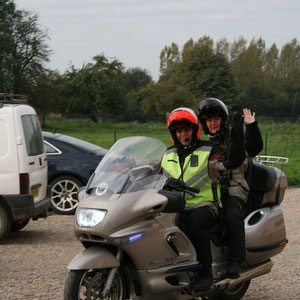 Les motards du blockhaus