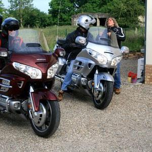 Accueil motards en Picardie