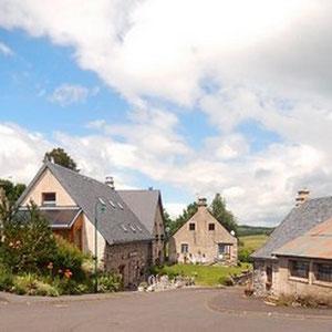 Un beau petit village d'Auvergne