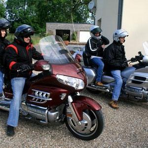 Chambre d'hôtes accueil motard  Picardie
