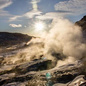 Hveragerdi, IJsland