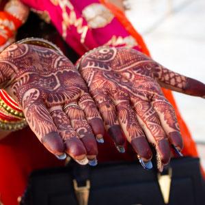 Henna, India, Hindoeisme