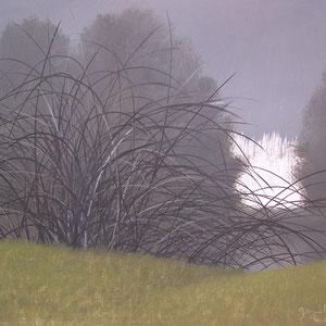 Régénérescence - Huile sur médium - 29,5 x 41,5 cm - 2017 - Didier Goguilly