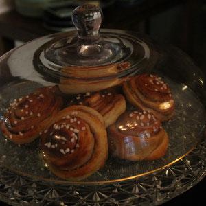 Zimtschnecken: saftig, gute Süße und hefig-fluffig