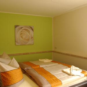 2 getrennte Schlafzimmer