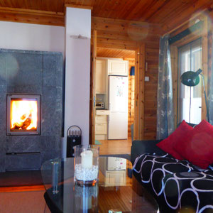 ... wohlig warmes Wohnzimmer im Winter.