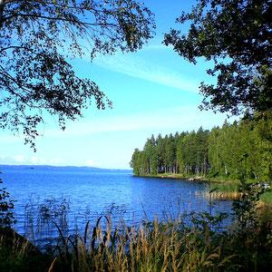 Die Bucht vor Ihrem Domizil lädt auch zu kleinen Wanderungen und Spaziergängen am Ufer ein.