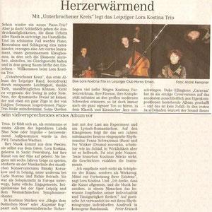 "CD Rezension ""Unterbrochener Kreis"""