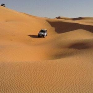 En el corazón del Sáhara