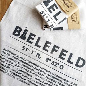 Liebefeld | Geschirrtuch Handdruck | Sieb & Seele