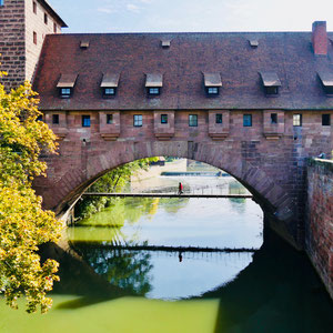 Stadtmauer in Nürnberg