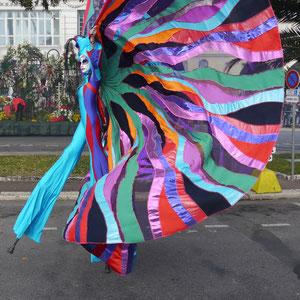 Karneval in Nizza und Blumenkorso