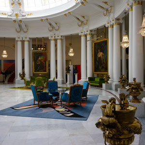Nizza, Hotel Negresco Lobby