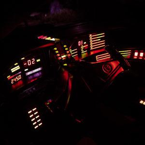 l'intérieur de K2000