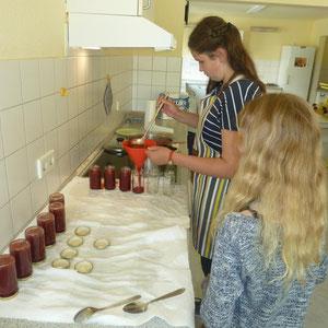 Wir kochen Marmelade