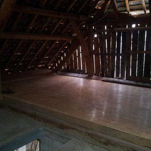 réalisation de poutraison et plancher bois