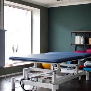 Physiotherapiepraxis in Greifswald // Behandlungsraum