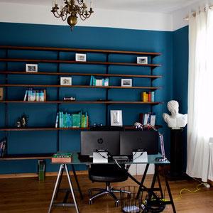 dieartige//Design Studio - Altbau // Arbeitszimmer