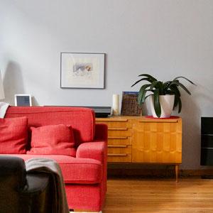dieartige//Design Studio - Altbau // Wohnzimmer