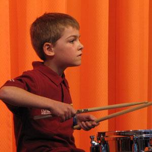 Schlagzeuger Tom Hery
