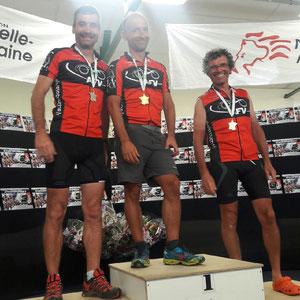 Les champions deux roues ; Jérôme - Marc - Olivier