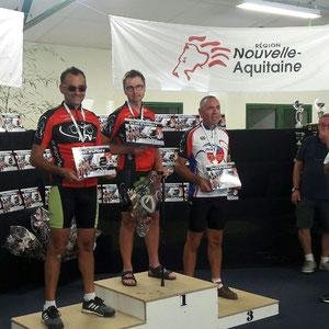 Les champions en trike : Philippe - Rodolphe - Patrick