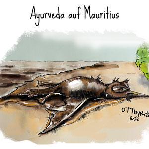 Aktueller Anlass - Ölunglück vor Mauritius August 2020