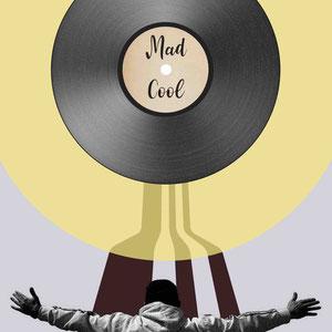 Ilustración seleccionada Galeria Mad Cool para Mad Cool Festival 2018.