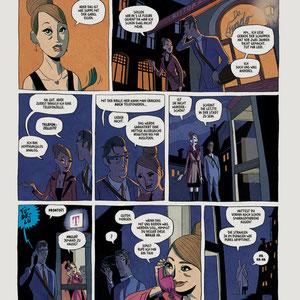 Zweiseitiger Comic - Thema: Google Glass - Magazin: 360 Grad - Kunde: Telekom