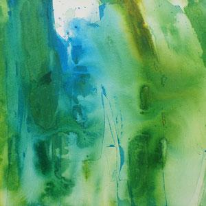 Wald, 50 x 50 cm, Acryl auf Leinwand