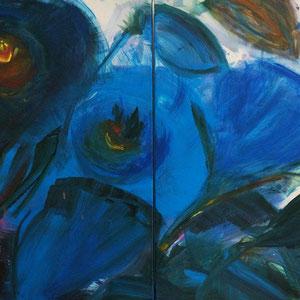 Ausgewogenheit, 120 x 80 cm, Acryl auf Leinwand