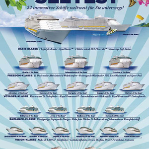 "Plakat ""See-Test"", Kunde: Royal Caribbean International"