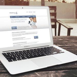 """Webauftritt """"Mensing Derma"""": Konzeption, Struktur der gesamten Seite. Ausdünnung alten Contents, Ergänzung neuer Inhalte. Koordination aller beteiligten Dienstleister wie Grafik, Programmierung und Fotograf."""