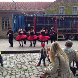 "Dorffest in Zehlendorf 2013 ""Live Fire Dancers"""