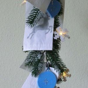 Adventskalender Winterglanz