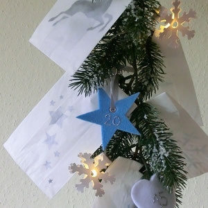 Adventskalender Winterglanz