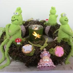Tischkranz Kermit & Co.