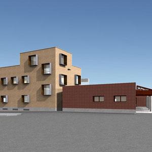 Proyecto de Centro de Salud, Rodrigo Pérez Muñoz, Arquitecto.