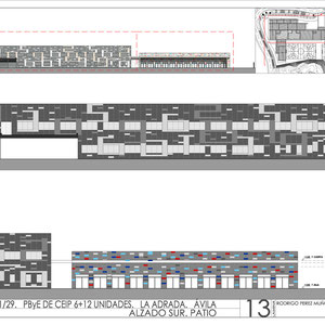 Proyecto de CEIP, Rodrigo Perez Muñoz, Arquitecto
