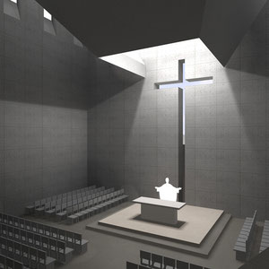 Proyecto de Iglesia, Rodrigo Pérez Muñoz, Arquitecto.