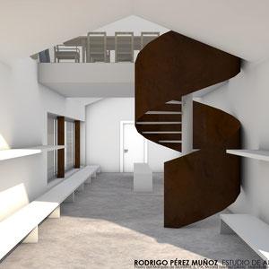 Proyecto de obras y actividad de edificio corportativo. Rodrigo Perez Muñoz arquitecto.