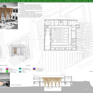 Proyecto de Hospedería, Rodrigo Pérez Muñoz, Arquitecto.