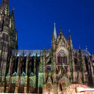Dom by night, leider ohne Weitwinkel :-(