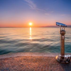 Sonnenuntergang Lazise